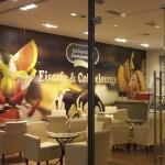 Eiscafe-Lounge Centrum Galerie Dresden Sächsische Eismanufaktur