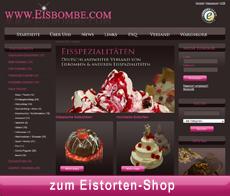 """Link zum Eistorten-Shop der """"Eisbombe"""""""
