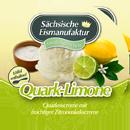 Eisbecher Quark-Limone